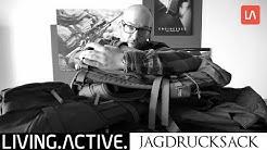 Jagdrucksäcke im Test - Pinewood Sitz-Rucksack / Halti Kauris / Vorn Deer