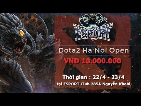 Dragon vs NoHope | Group C Hanoi open @Nicky ft. Gấu