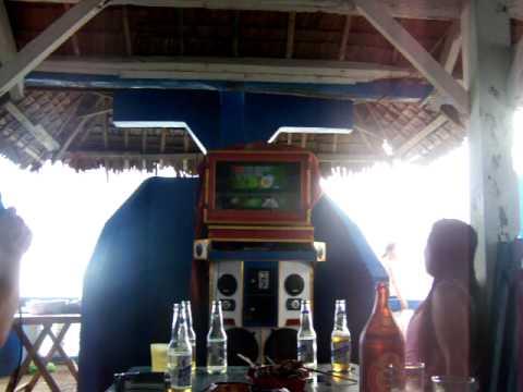 karaoke at the vista, kilim leyte.