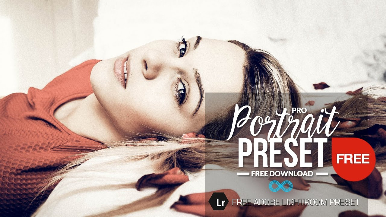 Free Professional Portrait Lightroom Preset to Download from