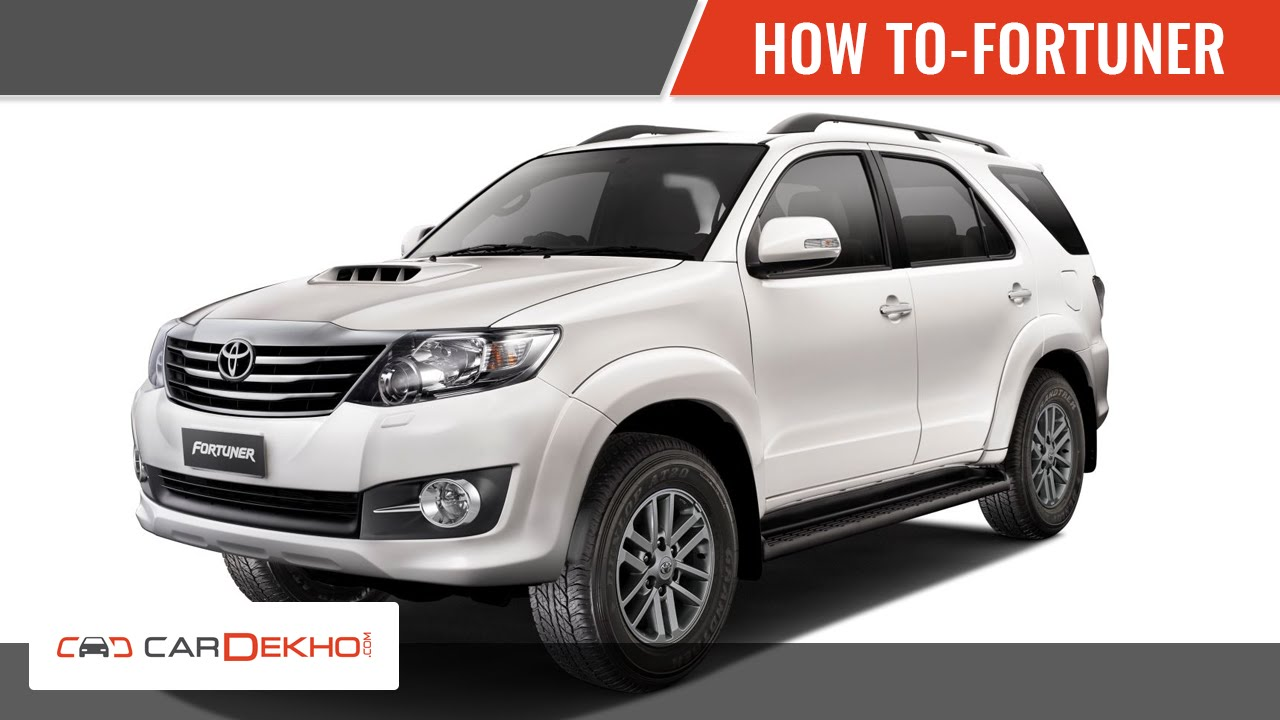 How To Shift Gears In Toyota Fortuner Cardekhocom Youtube Dashboard Symbols For Cars