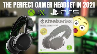 The PERFECT Gamer Headset In 2021 Steel Series Arctis 7X Wireless For Your PS5 & Xbox Series X!!!