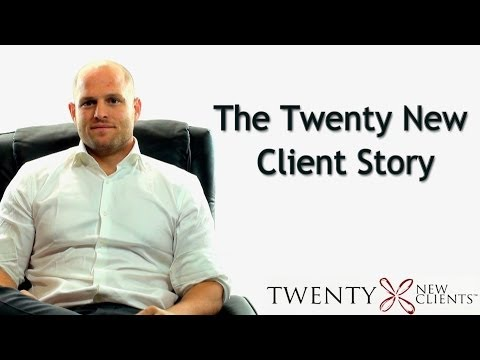Multimillion Dollar Investor to Coach -- The REAL Twenty New Clients Story