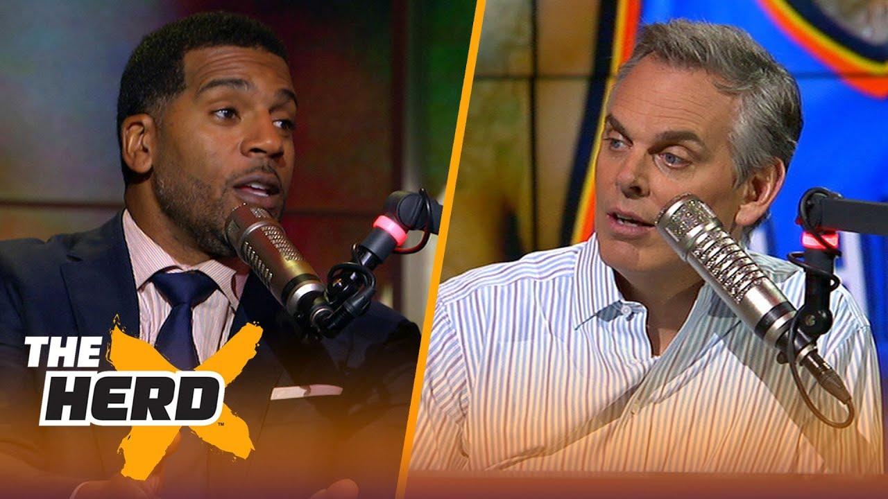 Jim Jackson and Colin Cowherd on Houston's championship window | NBA | THE HERD