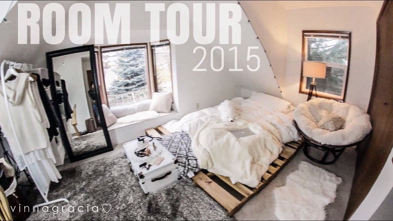 my room tour 2015 affordable ikea ross amazon vinnagracia youtube. Black Bedroom Furniture Sets. Home Design Ideas