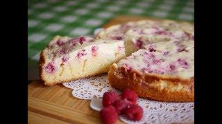 Малиновый Пирог с Чизкейком. Очень нежно и вкусно!