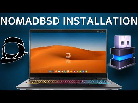 NomadBSD Installation 2020