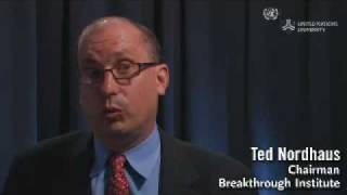 Ted Nordhaus on climate change innovation 2008