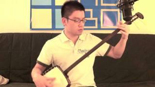 Original Japanese worship song based on John 3:16 sung with shamise...