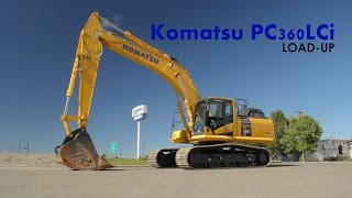 Komatsu PC-360LCi Loadup Billings, MT