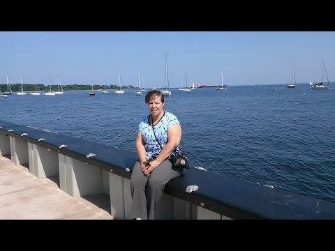 De paseo en la ciudad costera de Perth Amboy