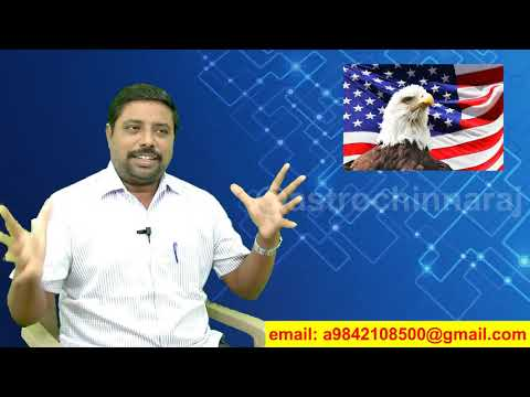 H1B Visa - Astrological view by DINDIGUL P.CHINNARAJ ASTROLOGER INDIA