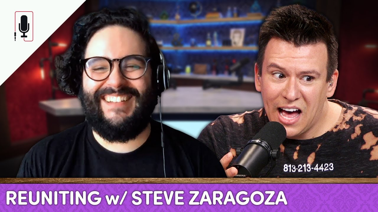 Steve Zaragoza Opens Up About How Divorce & Therapy Changed Him, & Best Pandemic Movies l Ep. 40