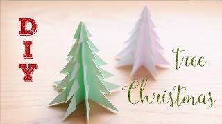 D.I.Y cristmas tree. Елка из бумаги. Скоро Новый Год!!!(Ну прям очень быстро и прост делается и реально похожа на елку))) Ей можно украсить праздничный стол, оформит..., 2015-11-25T09:46:20.000Z)