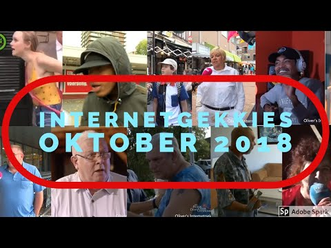 De Internetgekkies van de maand Oktober 2018