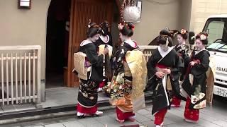 京都花街宮川町新年挨拶回り(四)2018/1/5#japan#kyoto#kagai#miyagawacho#geiko#maiko
