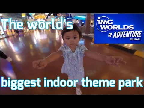 OMG! The best and the biggest indoor theme park in the World! IMG Worlds of adventure!