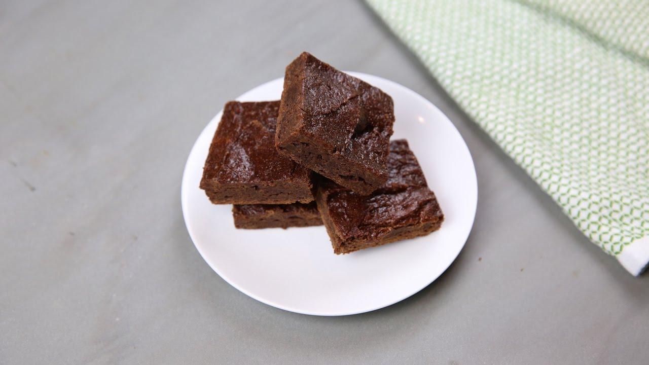 Organic Maca Powder Vegan Brownies Recipe