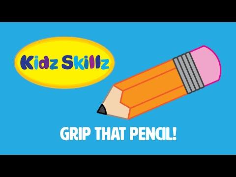 Kidz Skillz Presents: Grip That Pencil!