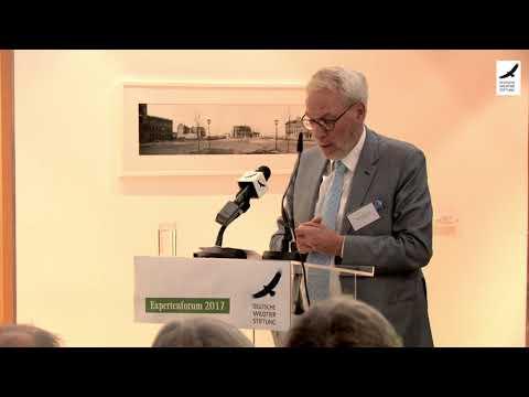 Rettet die Wiesen! - Prof. Fritz Vahrenholt beim Expertenforum 2017
