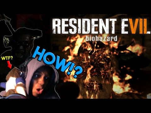 HE CHOPPED MY LEG OFF! PROTECT ME JR. | [Resident Evil 7] [Part 2]