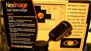 Install and set up of the QHY5 guider/camera and celestron neximage SSI