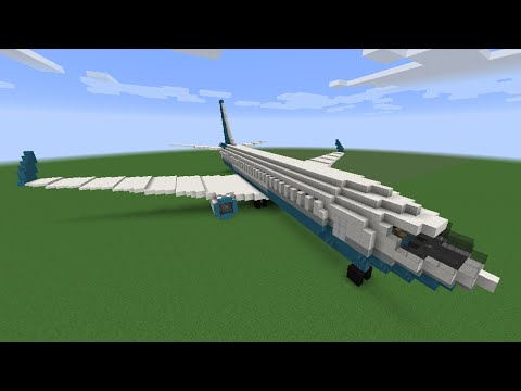 How To Make A Minecraft Plane!