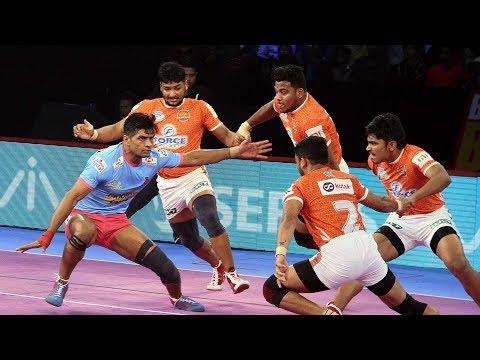 Pro Kabaddi 2018 Highlights | Jaipur Pink Panthers vs Puneri Paltan | Hindi