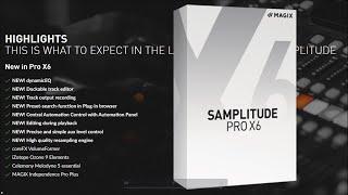 Magix Samplitude Pro X6 - Testing new features !