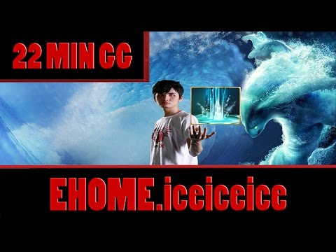 EHOME.iceiceice plays Morphling, 22 MIN GG Full Game - Dota 2