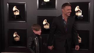 Ricky Martin on the Red Carpet   2019 GRAMMYs
