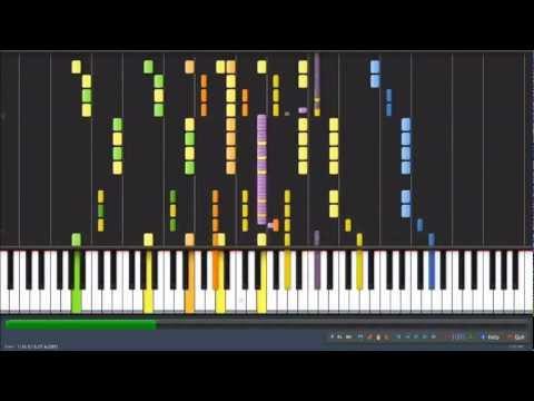 [HD] Avicii - Levels [Synthesia]