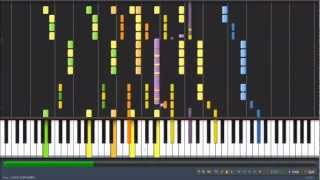 [HD] Avicii - Levels [Synthesia]