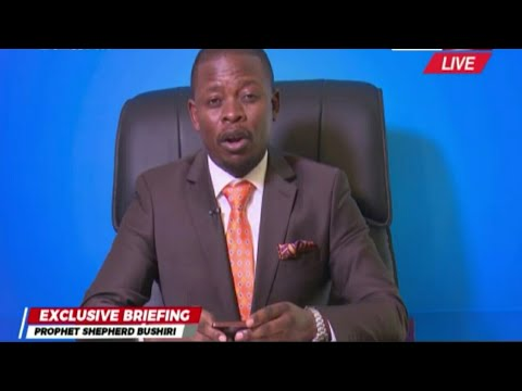 LATEST NEWS;  BUSHIRI FIRST BRIEFING AFTER GRANTED BAIL TO THE PUBLIC.