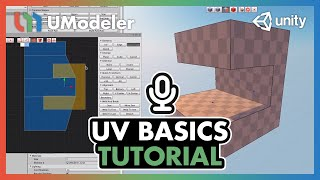 UModeler Tutorial #4 - UV Basics
