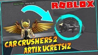 CAR CRUSHERS 2 ARTIK ÜCRETSİZ !! / Roblox Car Crushers 2 / Roblox Türkçe / FarukTPC