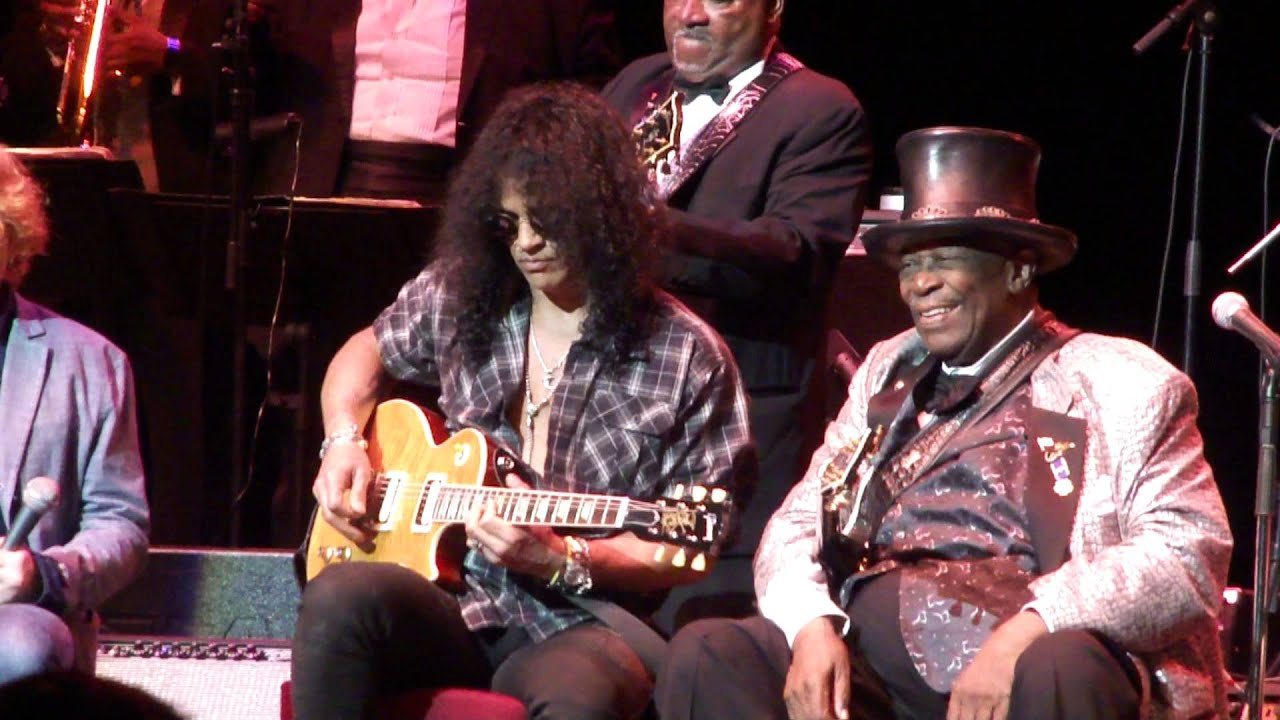 B B King Royal Albert Hall 28 June 2011 Wearing The Slash Top Hat YouTube