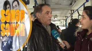 Elşad Qarayev avtobusda - Seher-Seher