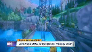 Using video games to cut back on workers' comp at nursing homes.
