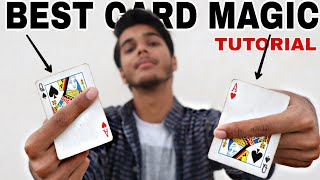 Best Card Magic Trick - TUTORIAL With English Subtitles