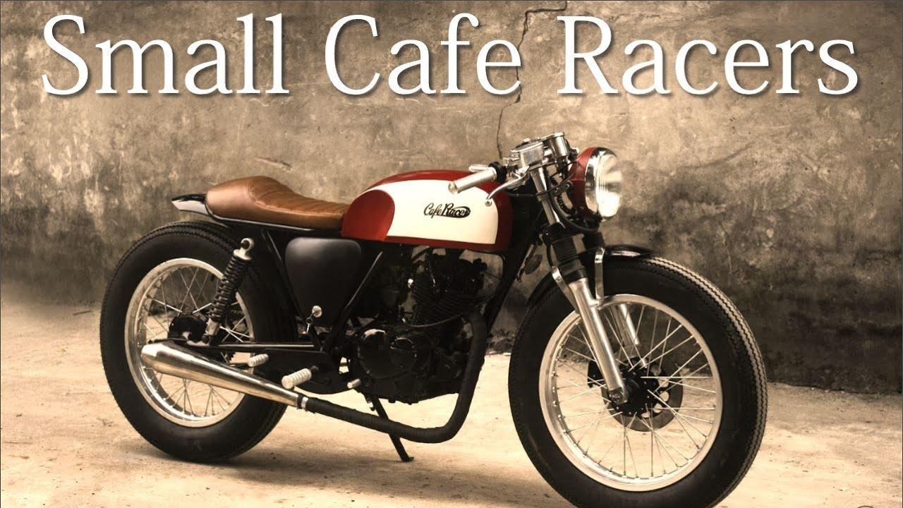 small cafe racers - suzuki gn 125duong doan's design - youtube