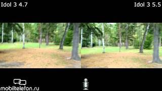 сравнение камер Idol 3 4.7 и Idol 3 5.5 (camera test)