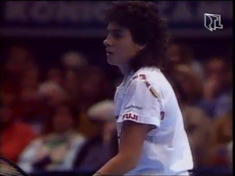 Gabriela Sabatini v Steffi Graf Virginia Slims 1990 pt2