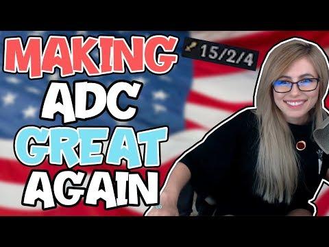 MAKING ADC GREAT AGAIN | Nicki Taylor