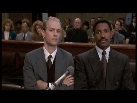 discorso storico di Denzel Washington nel film Philadelphia - ita