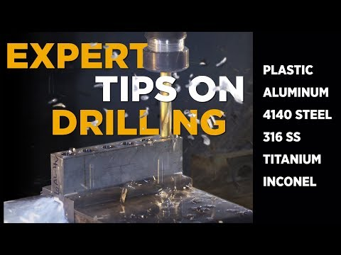 Expert Drilling Tips in All Materials - VLOG #22 - CNC Machining