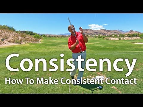 Consistent Golf Swing: Stop Topped and Thin Shots
