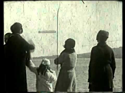 El Zeppelin en Montevideo. 1934.