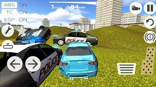 ГОНКИ ОТ ПОЛИЦИИ НА КРУТЫХ МАШИНАХ ИГРА НА ТЕЛЕФОНЫ АНДРОИД И IOS EXTREME CAR DRIVING RACING 3D