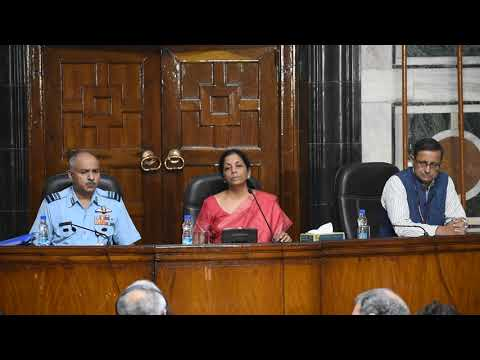 Defence Minister Nirmala Sitharaman's Press Conference on Ra